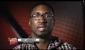 Two-time All-Star Roy Hibbert talks about what he sees when he steps on the court. Visit nba.com/video for more highlights.