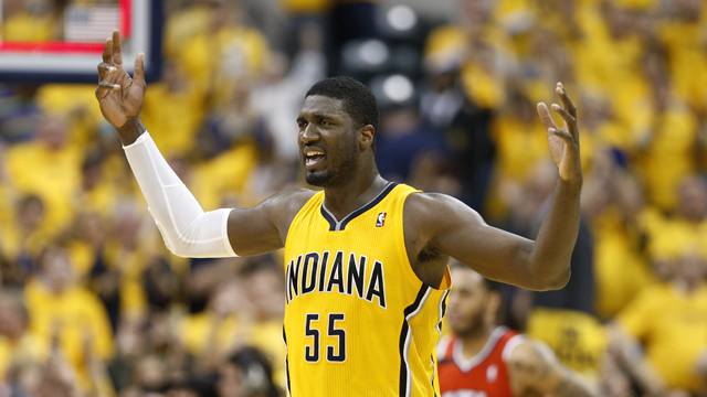 Roy Hibbert: Doing the Dirty Work for the Pacers
