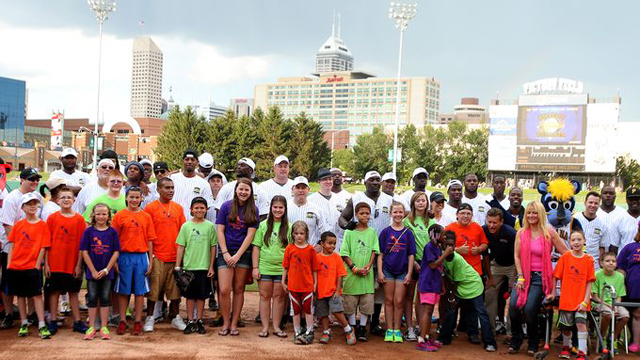 Celebrities Step Up to the Plate at Roy Hibbert's Children's Wish Fund